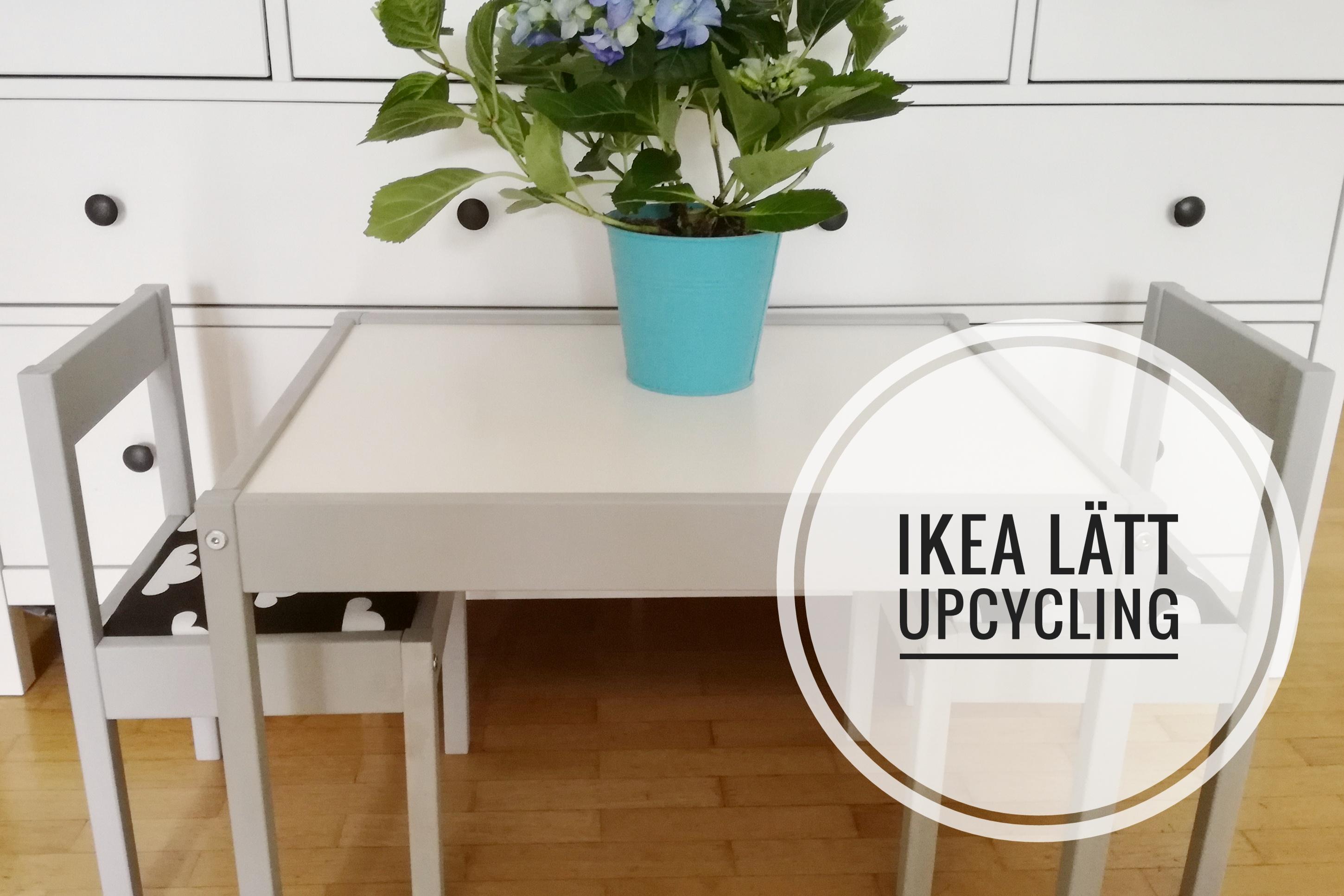 Latt Upcycling Pipapiccolotta Ikea Kindertisch Und Stuhle
